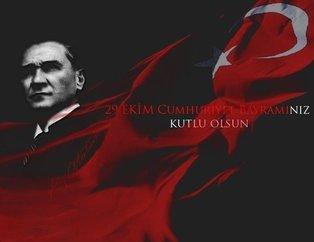 Resimli 29 Ekim Cumhuriyet Bayramı mesajları! Cumhuriyet Bayramının 95inci yıl dönümü kutlu olsun