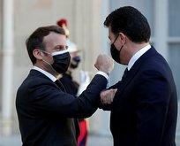 Macron, Barzani ile görüştü