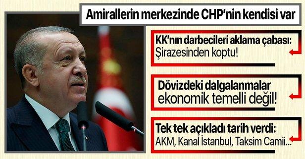 Başkan Erdoğan'dan Bay Kemal'e bildiri tepkisi