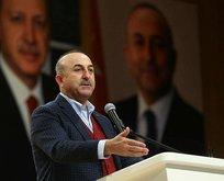 Dışişleri Bakanı Çavuşoğlu'dan sert uyarı