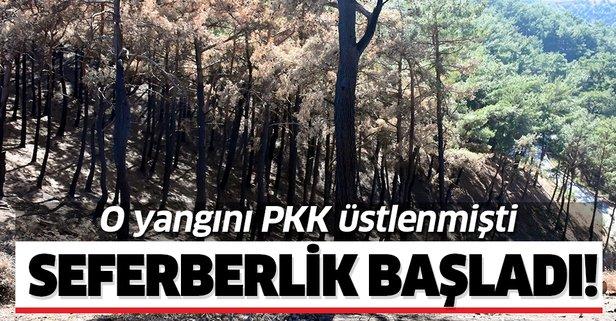 İzmir'de PKK'nın yaktığı ormanlara ağaçlandırma seferberliği!