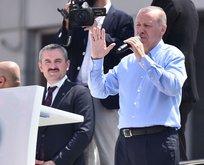Erdoğan: Terör örgütü mensupları Maltepeyi yönetiyor!