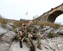 Aliyev'den zafer turu! Gururu fotoğraflara yansıdı