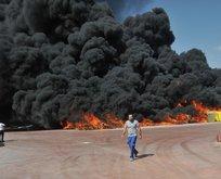 Antalyada büyük yangın! Göz gözü görümüyor