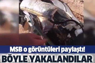 MSB o görüntüleri paylaştı! Barış Pınarı Harekât Bölgesi'nde motosikletteki patlayıcı etkisiz hale getirildi
