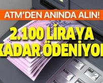 375, 450, 675, 1050, 1.200 ve 2.100 lira veriliyor!