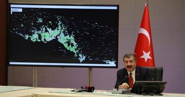 Sağlık Bakanı Fahrettin Koca duyurdu: İşte il il Türkiye'nin Kovid-19 yoğunluk haritası