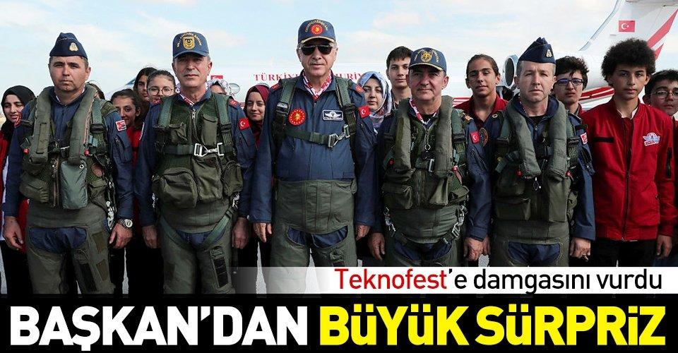 Başkan Erdoğan Teknofestte
