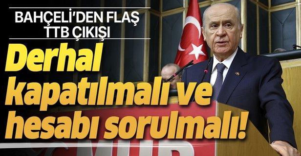 Türk Tabipleri Birliği derhal kapatılmalı