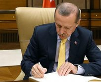 Erdoğan'dan 6 üst düzey atama