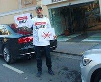 Gazeteciden CHP'ye 'adalet' protestosu