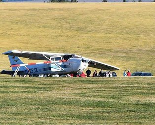 Almanyada uçak kazası: Can kayıpları var