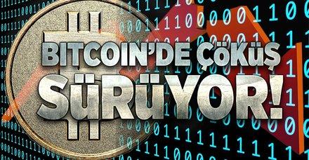 Bitcoin çakılmayı sürdürüyor! Bir Bitcoin kaç lira oldu?