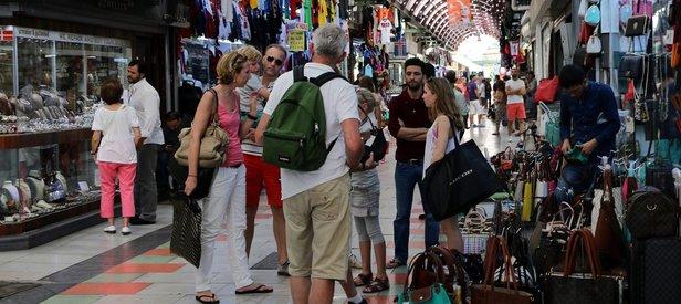 Türkiyeye turist akını