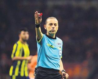 Galatasaray: 0 Fenerbahçe: 0 Cüneyt Çakır sıfır