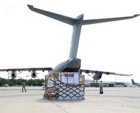 Afganistan'a tıbbi malzeme yardımı
