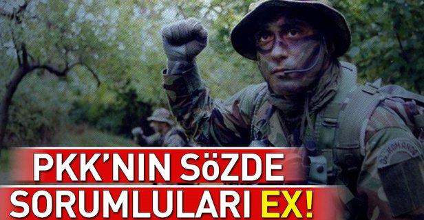 PKKnın sözde sorumlularına ağır darbe