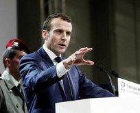 Macron'dan Suriye açıklaması!