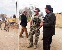 Amerikan askerleri Türkiye sınırında görüntülendi!