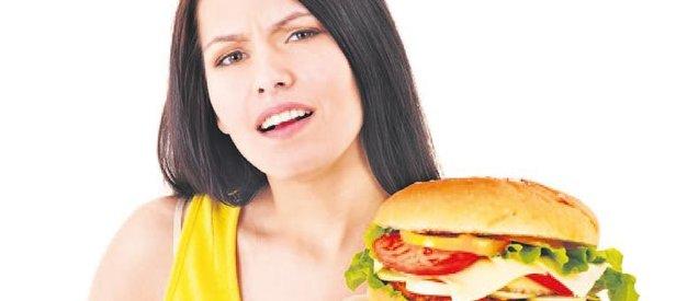 Baklava-hamburger felç 'geliyorum' der