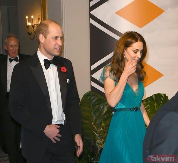 Kate Middletonı bu halde görenler çok şaşırdı! Giyecek kıyafet mi kalmadı?