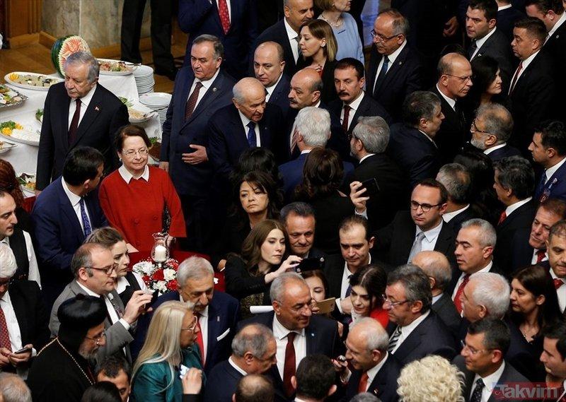 Meclis'te 23 Nisan resepsiyonu