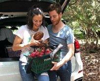 Lima ve Hara 'aşk meyvesi' topladı