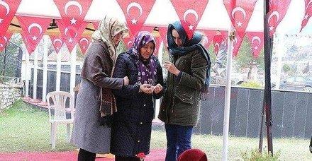 İşte Afrin şehidinin vasiyetindeki Zehra teyze!