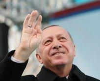 Erdoğan, Beyaz Masa'nın kuruluş yıl dönümünü tebrik etti