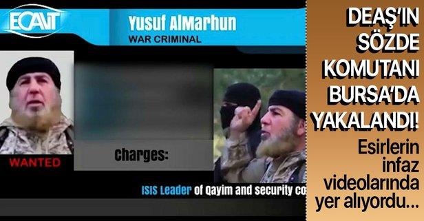 DEAŞ'ın sözde istihbaratçısı yakalandı
