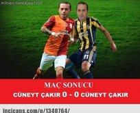 Galatasaray - Fenerbahçe capsleri