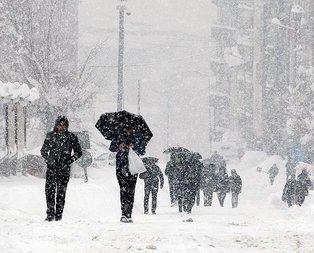 O şehirlere son dakika kar uyarısı!