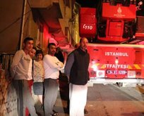 İstanbul'da hareketli anlar!