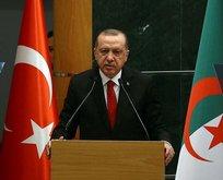 Cumhurbaşkanı Erdoğan Cezayir'den ayrıldı