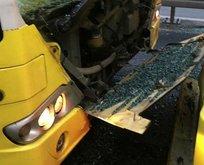 Fikirtepe'de metrobüs kazası! Çok sayıda ambulans sevk edildi!