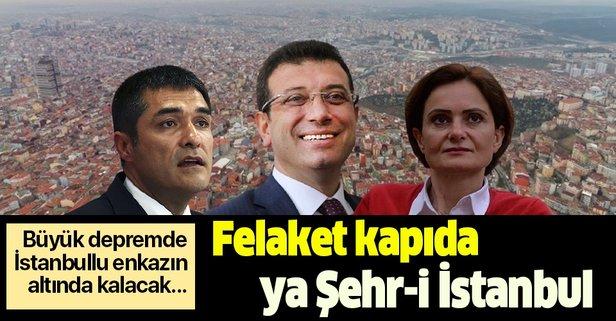 İBB İstanbul'u tehlikenin kucağına attı