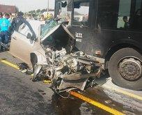 İstanbul'da metrobüs kazası: 1 kişi öldü