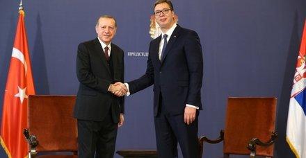 Vucic'ten Başkan Erdoğan'a tebrik