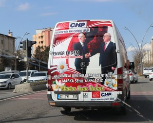 CHP Demirtaş'ın sesiyle oy istiyor
