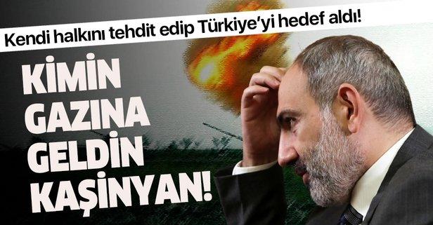 Paşinyan'dan Türkiye'ye alçak iftira!