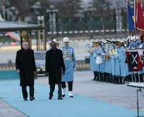 Çad Cumhurbaşkanı, Başkan Erdoğan tarafından böyle karşılandı