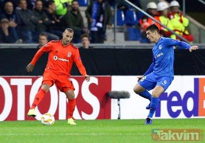 Avrupalı Beşiktaş geri döndü!   Genk: 0 - Beşiktaş: 1 Maç sonucu