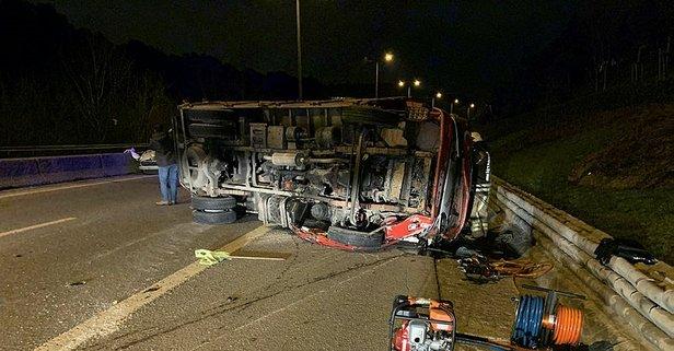 İstanbul'da feci kaza! Ağır yaralılar var