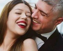 Özcan Deniz ile Feyza Aktandan nikah pozları
