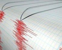 Erzurumda 4 büyüklüğünde deprem