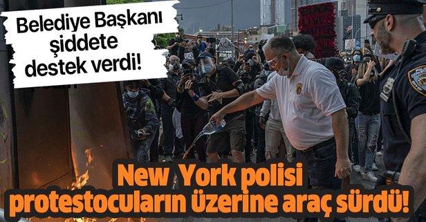 New York Belediye Başkanı Bill de Blasio polisi savundu! Protestolar devam ediyor