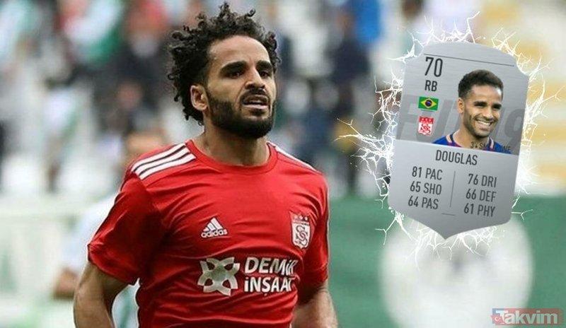 Falcao'nun gelişi olay olmuştu! Şimdiden Süper Lig'i salladı (Süper Lig'e transfer olan futbolcuların FIFA 2019 sıralaması)