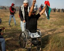 Filistinli engelli şehidin son sözleri