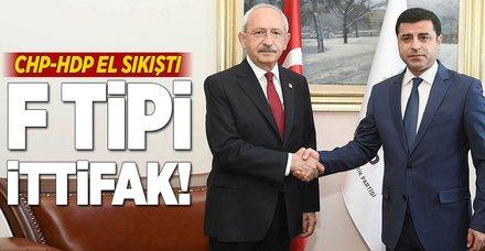CHP-HDP ittifak için el sıkıştı