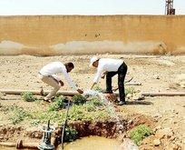 Tel Abyad'da 138 köy, yıllar sonra suya kavuştu